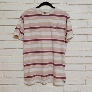 Mens Maui striped short sleeve shirt